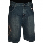 SOUTH POLE denim short mid blue