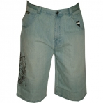 SOUTH POLE denim short light blue