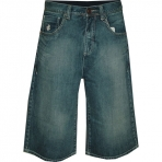 ROCA WEAR denim short too short