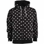 K1X foliage zipper hoody
