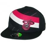 UNK HEAT STRIPE NBA CAP