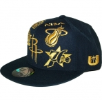UNK NBA GOLD LOGO CAP