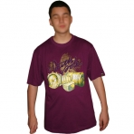 SOUTH POLE T-SHIRT PURPLE