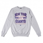 MAJESTIC NFL NEW YORK GIANTS GREY