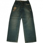 SOUTH POLE DENIM PANT MID BLUE JEANS