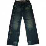 PHAT FARM DENIM PANT DARK BLUE SAND JEANS