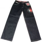 UNK ONE ON ONE GAMEON DARK BLUE JEANS
