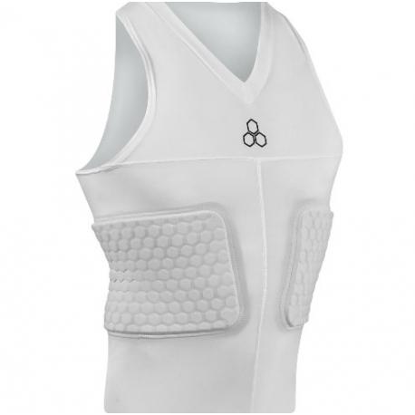 McDAVID V-Neck Sleeveless Shirt White