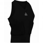 McDAVID V-Neck Sleeveless Shirt Black