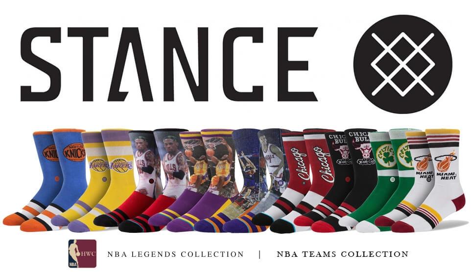 Ponožky STANCE NBA LEGENDS a NBA TEAMS