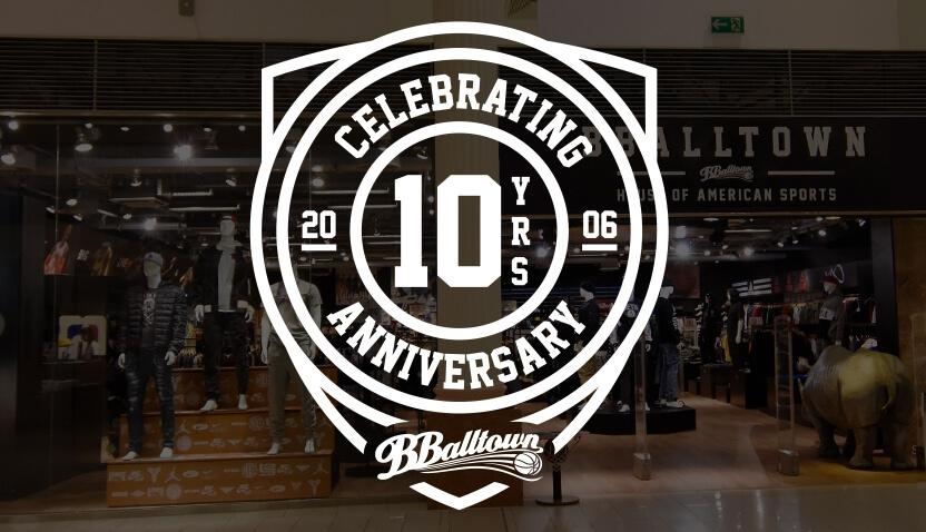 10. výročie BBALLTOWN