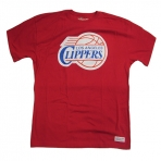 MITCHELL & NESS TEAM LOGO LA CLIPPERS TEE