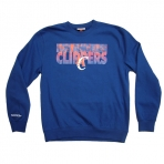 MITCHELL & NESS TEAM SHADOW LA CLIPPERS SWEAT