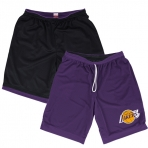 Mitchell & Ness NBA Reversible Mesh Shorts LA Lakers
