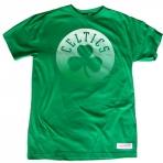 Mitchell & Ness Gradient Infill Traditional Tee Boston Celtics
