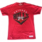 Mitchell & Ness Beveled Traditional Tee Chicago Bulls