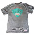 Mitchell & Ness Beveled Traditional Tee San Antonio Spurs