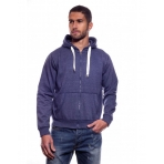 JEZY MELANGE HOODY ZIPPER DENIM