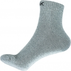 Basketbalové ponožky PEAK krátke šedé