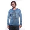 MZGZ tričko s dlhým rukávom Theplan modrá