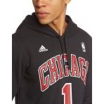 Adidas mikina NBA Chicago Bulls Gametime Hooded sweat