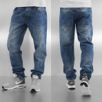 ROCAWEAR DENIM PANT LIGHT ROC WASH LOOSE TAPPERED FIT