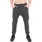 Urban Classics Curved Sweatpants šedá