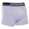 MZGZ boxerky Box Short Double Pack čierne/šedé