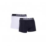MZGZ boxerky Box Short Double Pack čierne/biele