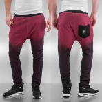 Just Rhyse Phileas Sweat Pants Red