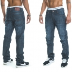 Rocawear Stay True Injection Denim Pants Raw Indigo
