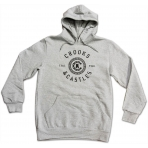 Crooks & Castles Hooded Pullover - Crooks Seal Heather Grey