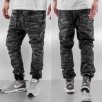 Just Rhyse Luke Antifit Jeans Black Wash