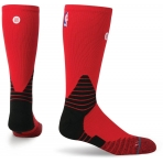 STANCE NBA ONCOURT SOLID CREW RED
