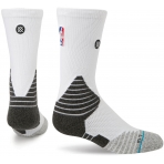 STANCE NBA ONCOURT SOLID CREW WHITE