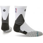 STANCE NBA ONCOURT SOLID QTR WHITE