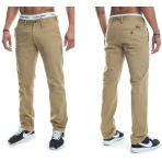 Roca Wear STAY TRUE INJECTION NON DENIM PANT KHAKI