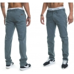 Roca Wear STAY TRUE INJECTION NON DENIM PANT GREY