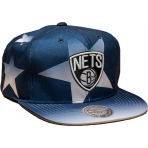 Mitchell & Ness Award Ceremony Snapback NBA - Brooklyn Nets Navy