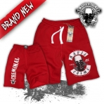 Mafia & Crime Shorts 100 %Criminal red