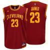 ADIDAS NBA CLEVELAND CAVALIERS - LEBRON JAMES REPLICA JERSEY