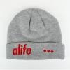 ALIFE NYC 3D Beanie Grey