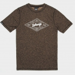 WRUNG T-SHIRT BUILT TO LAST HEATHER BEIGE