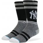STANCE ponožky STANCE NY YANKEES BLACK