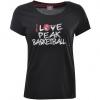 Peak  I love Basketball Round Neck T-Shirt Women
