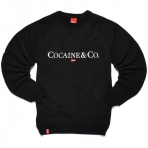 Kream Cocaine & Co Crewneck black
