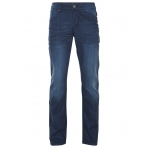 Shine Original Nohavice Loose Fit Jeans Dour Blue