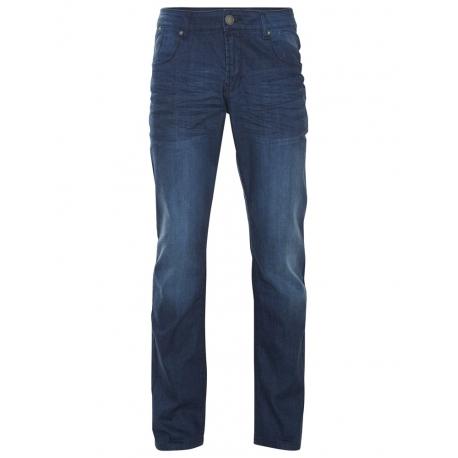 Shine Original Nohavice Loose Fit Jeans Dour Blue