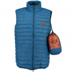 Geographical Norway Vucky Vest Hood Duck Blue