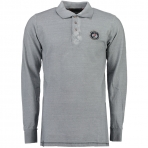 Geographical Norway Kacardi Ls Polo Shirt Light Grey